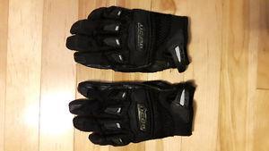 Ladies Icon motorbike gloves