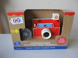 NEW--Fisher Price Vintage Toy Camera