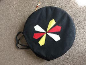 Native American medicine drum