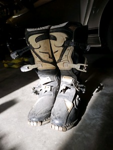 Thor Dirt Bike Boots Mens Size 11