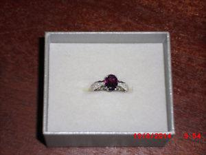 10 Kt Ring with Birthstone