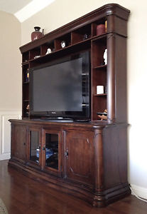 2 Piece TV Stand and Media Center