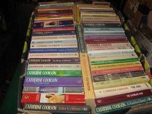 50 Catherine Cookson books $40 for the lot