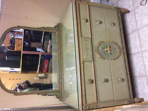 8 piece antique bedroom set made by (Sligh)