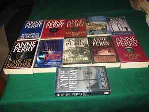 Anne Perry books $1 each or $10 for the lot