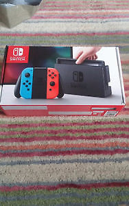 Brand New Nintendo switch Red Blue Neon Edition