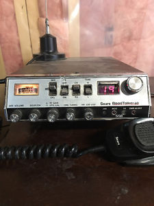 CB radio 40 channel and side band Wilson antenna