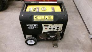Champion generator w electric start