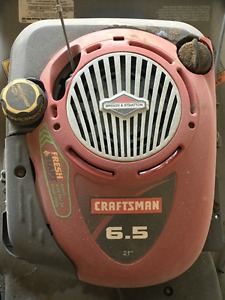 Craftsman 6.5 HP Gas Lawnmower for sale
