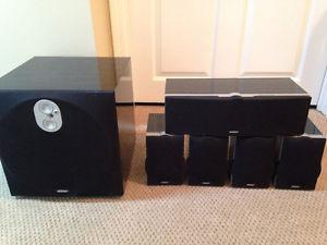 Energy Encore Surround Speakers & Sub