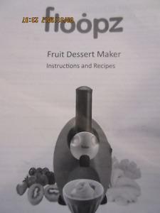 Floopy frozen fruit ice cream maker