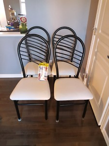 Free dining chairs (set of 4)