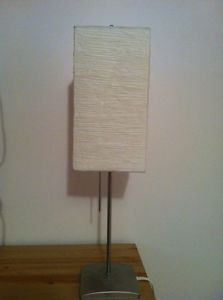 Ikea paper shade lamp