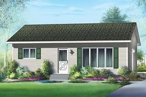 NEW $ CON 768 SQ FT BUNGALOW ON YOUR LOT