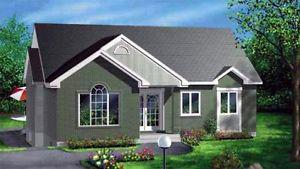 $ NEWLY CONST 998 SQ FT BUNGALOW ON YOUR LOT TURN KEY