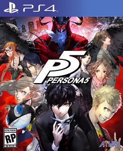 Persona 5 - PS4 - Brand New, Sealed