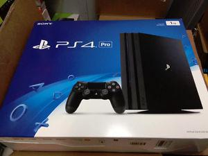 Playstation PS4 Pro Brand New Sealed 1TB Console /w receipt