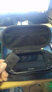 Playstation vita with 16 gb memory card