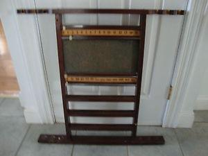 Pool Cue Holder with Score Keeper
