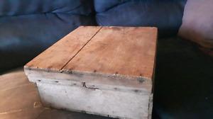 Primitive wooden box
