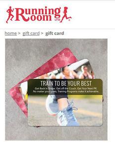 Running Room Gift Card