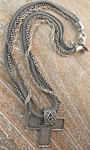 SILPADA 4 Strand Popcorn Rope Sterling Silver Necklace &
