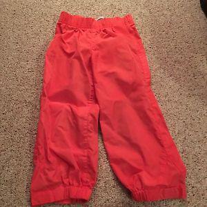 Toddler girl splash pants size 3