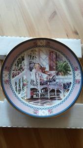 "Trisha Romance Collector Plate ""A Moment's Rest"""
