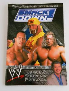 WWE SMACKDOWN Official Souvenir Program