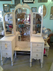 Wanted: WANTED: White or Cream Vanity and White Fancy