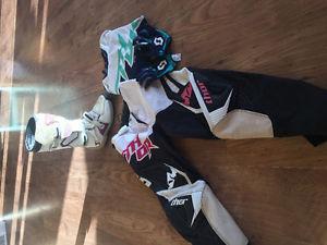 Women's motocross gear
