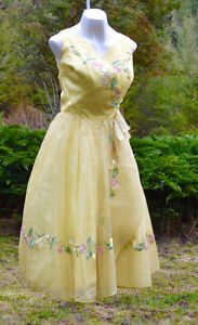 gorgeous one of a kind custom made vintage 50's Grad/Prom