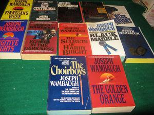 joseph Wambaugh books $1 each or $10 for the lot