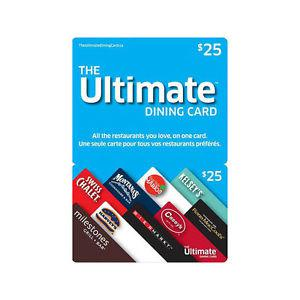 $25 Ultimate Unique Gift Card