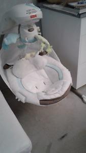 Baby swing little lamb cradle'n swing