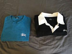 Basic Stussy long sleeve and Stussy rugby shirt