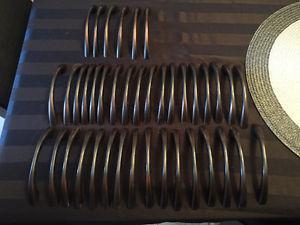 Dark brown Cupboard handles (40)