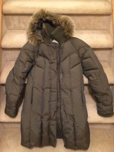 Down coat for girl size  cm)