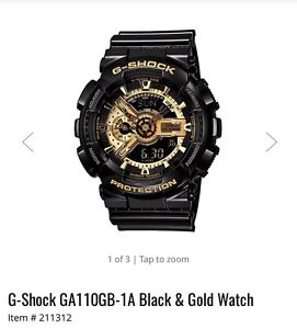 G shock watch $200 new selling for $125 OBO