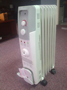 Heater, Radiant Oil-filled Electric