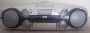 JVC CD Player + Radio + Tape