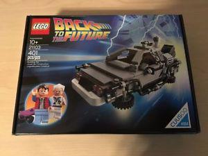 LEGO CUSSOO  DeLorean Time Machine Back to the Future