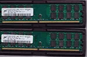 Micron 8GB KIT 2x4GB DDRpin DIMM AMD Desktop Memory