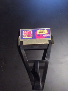 NES Nintendo Game Genie will Trade for N64 or SNES Games