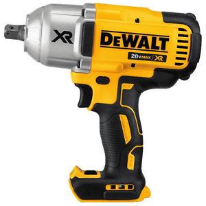 """NEW! DeWALT 20V XR BRUSHLESS 1/2"""" 3 Speed Impact Wrench"""