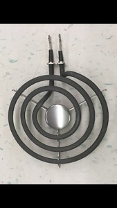 "New General Electric 6"" stove coil elements"