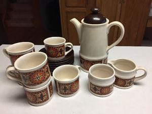 Sadler Vintage Coffee Set