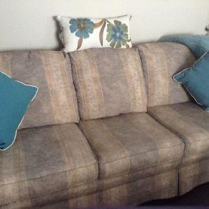 Sofa, Loveseat and Chair For Sale - Mint Shape