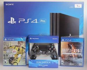 Sony PS4 Pro 1TB (Two Great Games + Controller)
