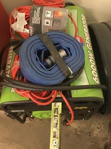Watt Portable Propane Generator